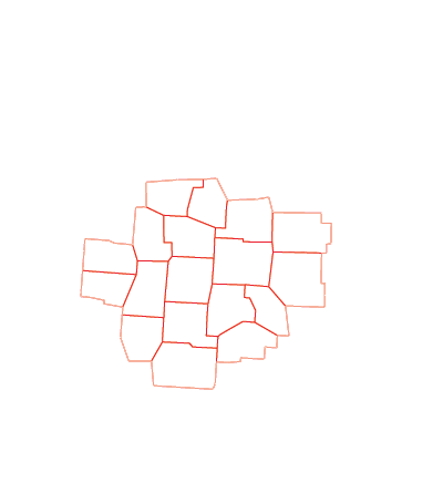 CBUS Service Area Map for Home Improvement in Columbus, OH